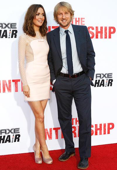Rose Byrne and Owen Wilson