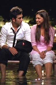 Ranbir Kapoor and Deepika Padukone in Yeh Jaawani Hai Deewani