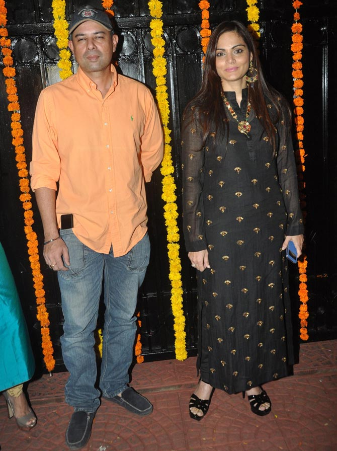 Atul Agnihotri and Alvira Khan