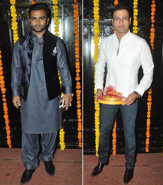 Sachin Joshi and Rohit Roy