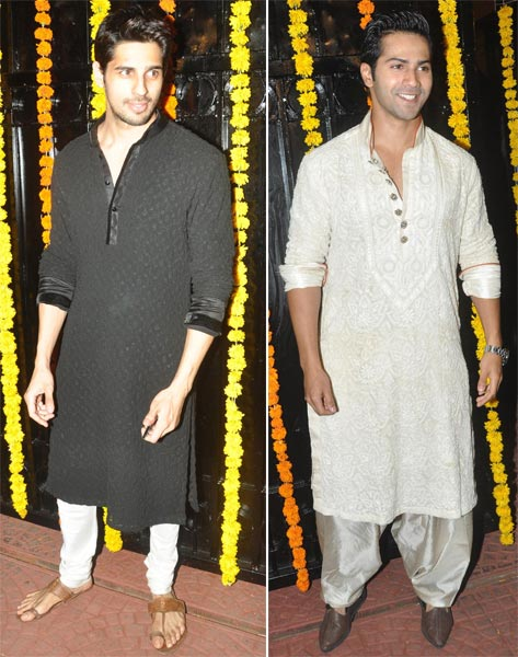 Siddharth Malhotra and Varun Dhawan