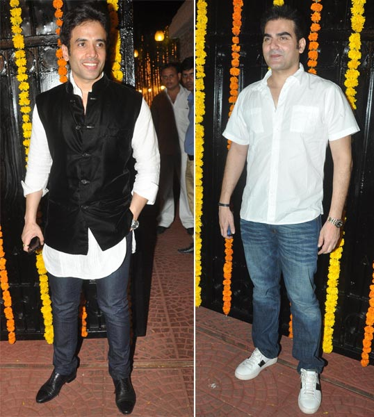 Tusshar Kapoor and Arbaaz Khan