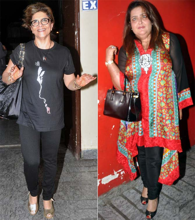 Pinky and Sunaina Roshan