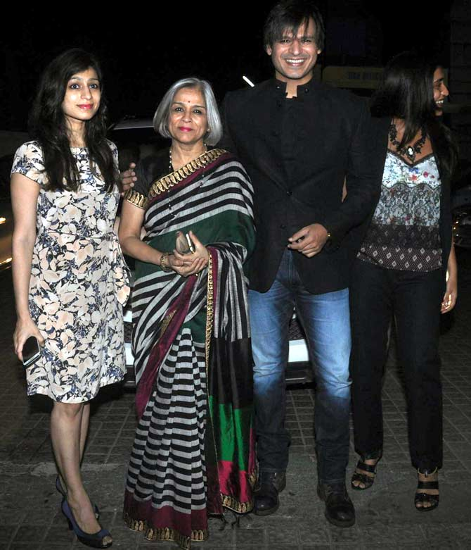 Meghna, Yashodhara, Vivek Obeori and Priyanka Alva