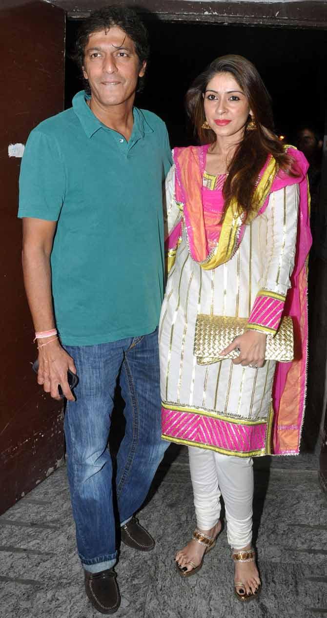 Chunkey and Bhavna Pandey