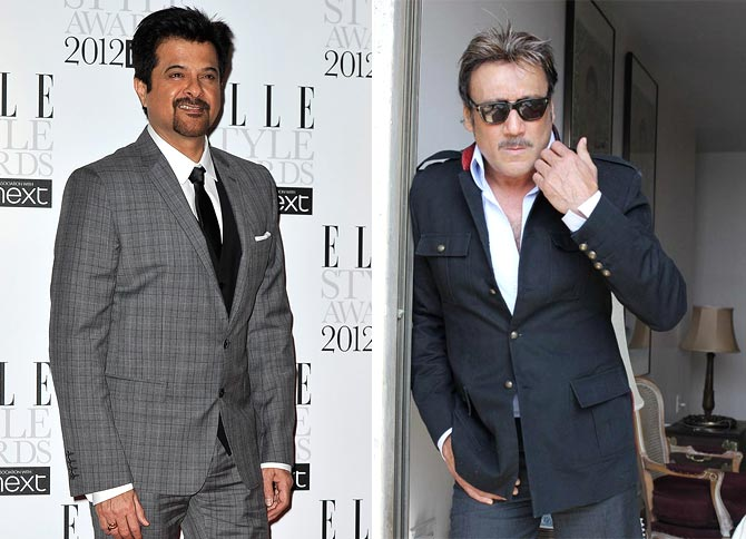 Anil Kapoor and Jackie Shroff