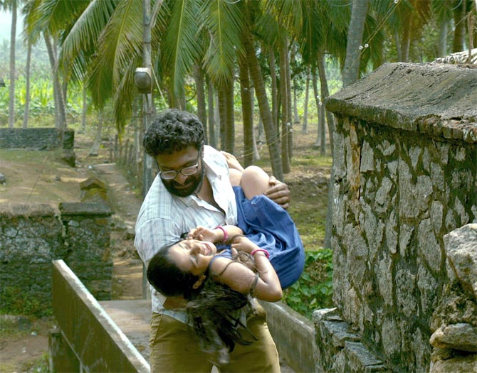 A scene from Thanga Meenkal