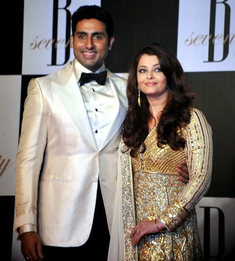 Abhishek and Aishwariya Rai Bachchan