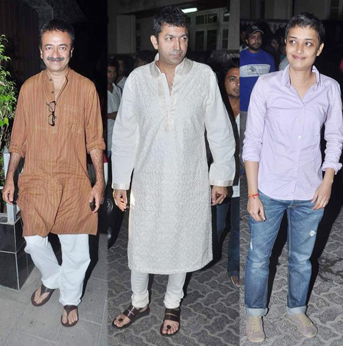 Rajkumar Hirani, Kunal Kohli and Reema Kagti