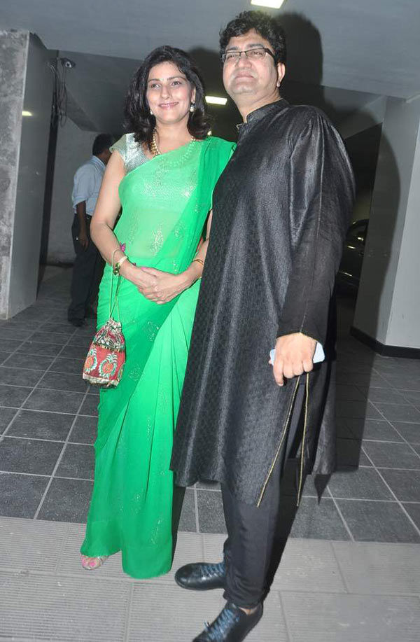 Prasoon Joshi and Aparna