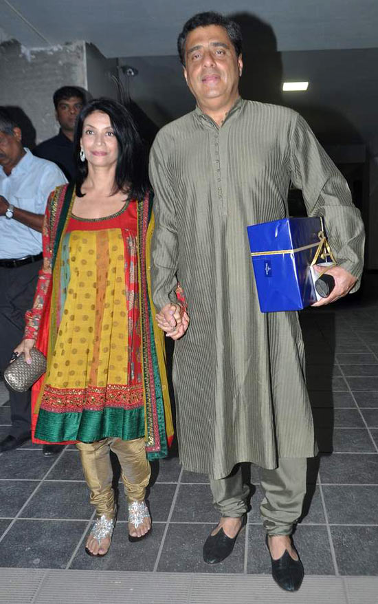 Ronnie Screwvala and Zarina Mehta