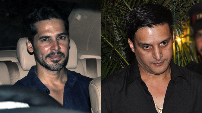 Dino Morea and Jimmy Shergill