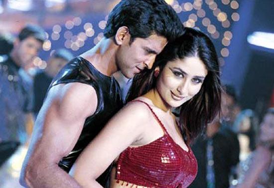 Hrithik Roshan and Kareena Kapoor in Kabhi Khushi Kabhie Gham...