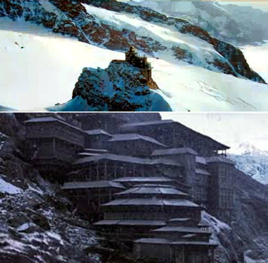 The lab in Krrish 3 and in The Batman Begins