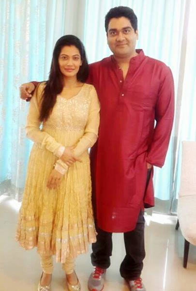 Payal Rohatgi with brother Gaurav