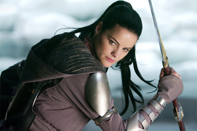 Jaimie Alexander as Sif