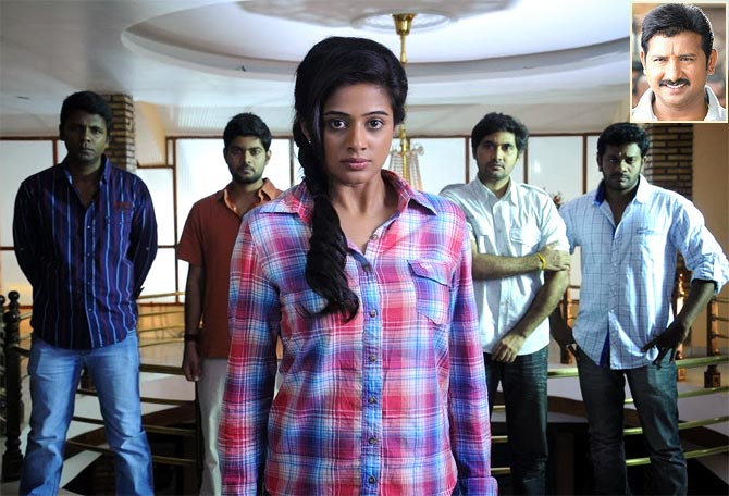 Priyamani in Chandee. Inset: Director V Samudra