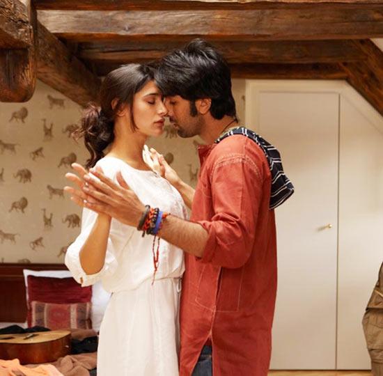 Nargis Fakhri and Ranbir Kapoor Rockstar