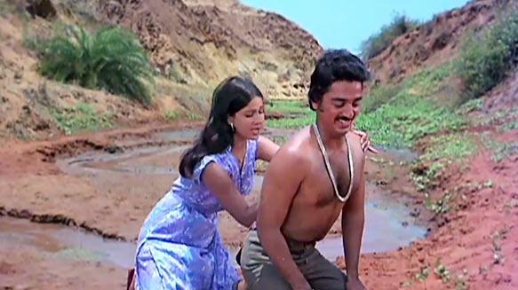 Rati Agnihotri and Kamal Haasan in Ek Duuje Ke Liye
