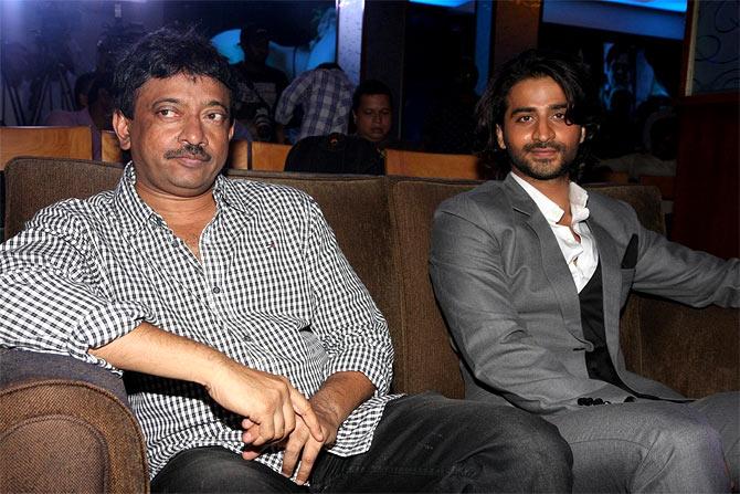 Ram Gopal Varma and Puneet Singh Ratn