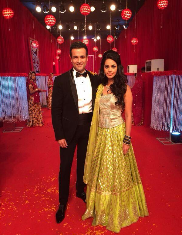Rohit Roy and Mallika Sherawat