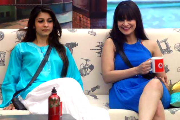 Tanishaa Mukherjee and Candy Brar