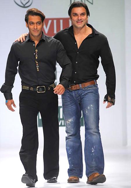 Salman and Sohail Khan