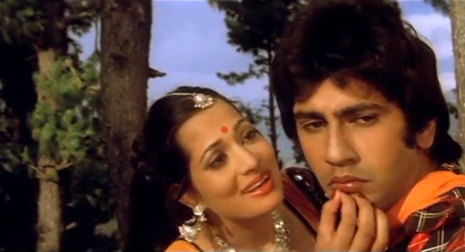 Vijeyta Pandit and Kumar Gaurav in Love Story