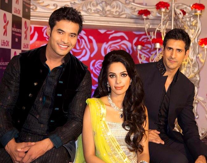Vijay Singh, Mallika Sherwat and Karan Sagoo