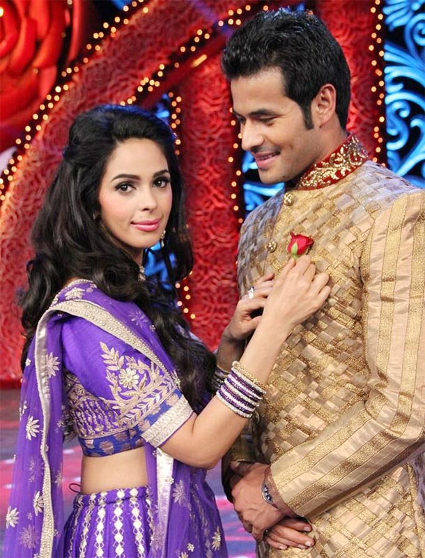 Mallika Sherawat and Vijay Singh