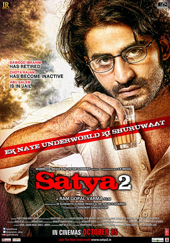 Movie poster of Satya 2
