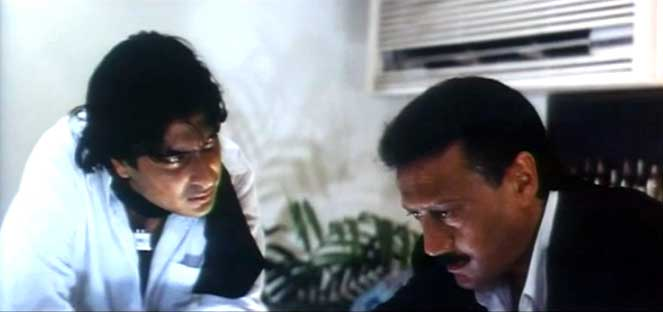 Sharad Kapoor and Jackie Shroff in Hadh