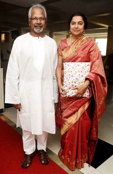 Maini Ratnam and Suhasini