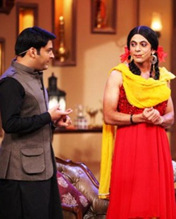 Kapl Sharma and Sunil Grover in Comedy Nights With Kapil