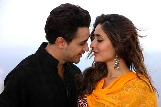Imran Khan and Kareena Kapoor in Gori Tere Pyar Mein