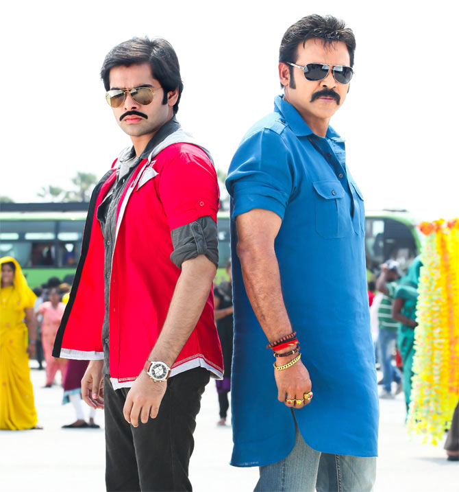 Ram and Venkatesh in Masala