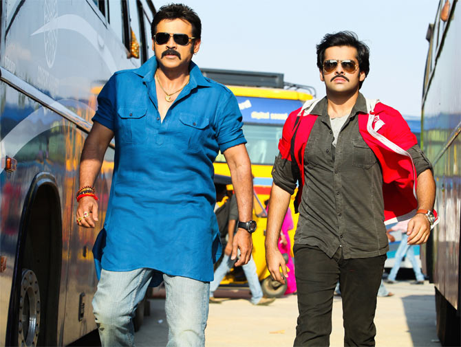 Venkatesh and Ram in Masala
