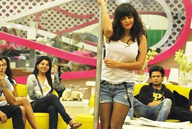 Sunny Leone in Bigg Boss 5