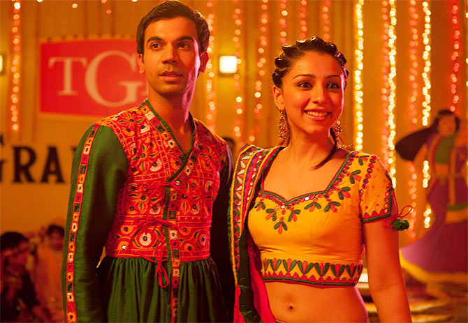 Raj Kumar and Amrita Puri in Kai Po Che