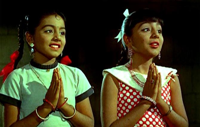 Neetu Singh, in a double role, in Do Kaliyaan
