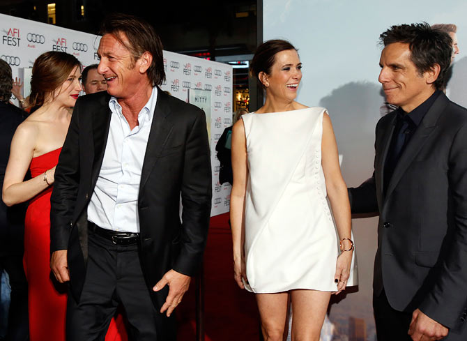 Sean Penn, Kristen Wiig and Ben Stiller