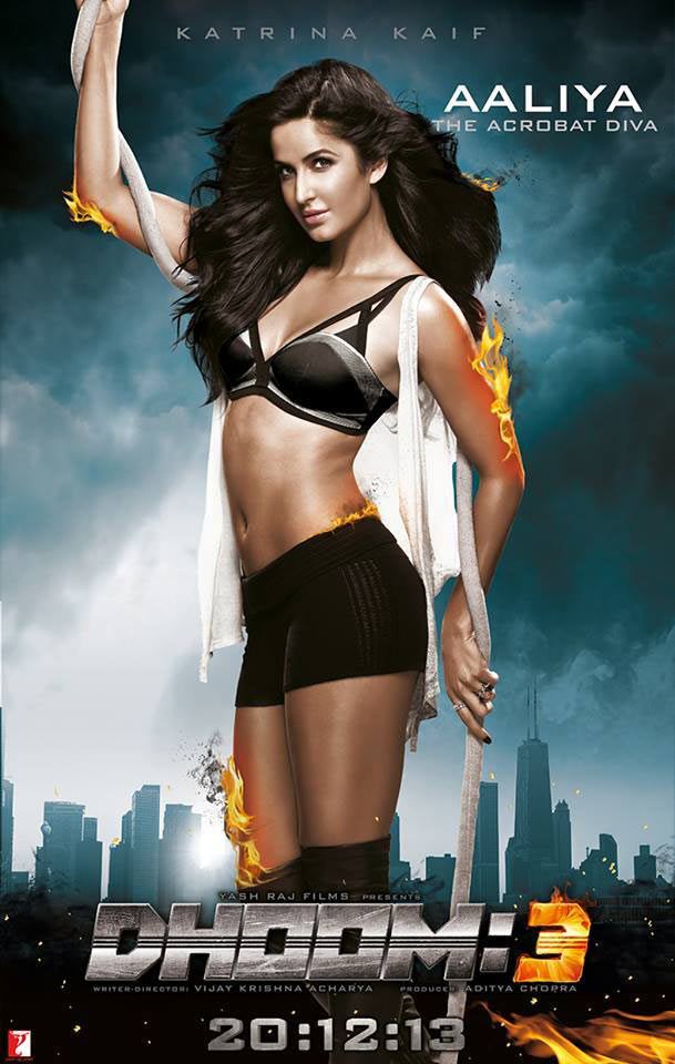 Current Bollywood News & Movies - Indian Movie Reviews, Hindi Music & Gossip - VOTE! Like Katrina's SEXY avatar in new Dhoom 3 song?