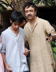 Vir with Raju Hirani