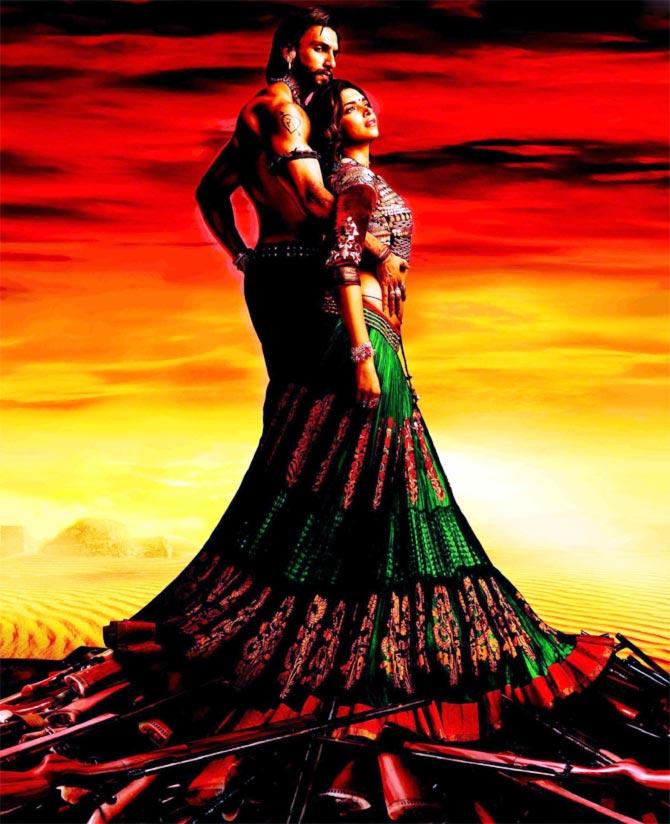Ranveer singh and Deepika Padkone in Goliyon Ki Rasleela Ram-Leela