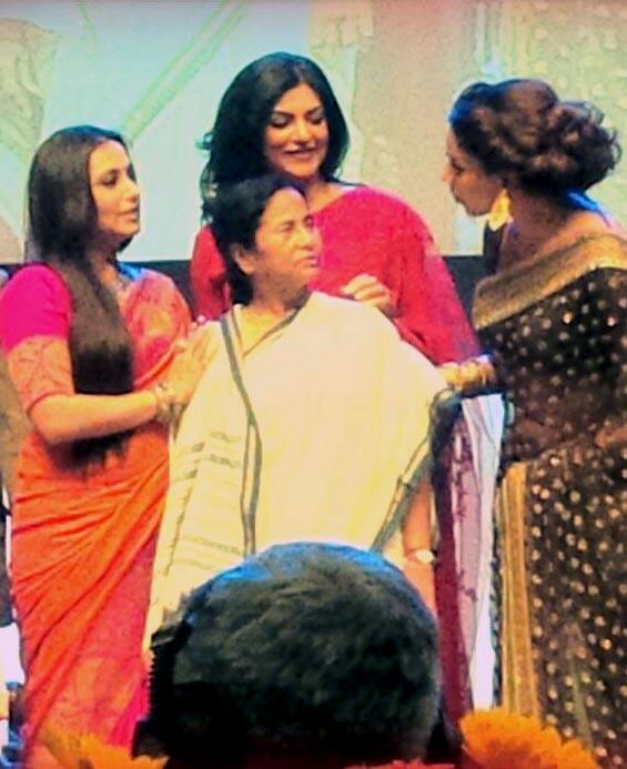 Rani Mukerji, Mamata Banerjee, Sushmita Sen and Bipasha Basu