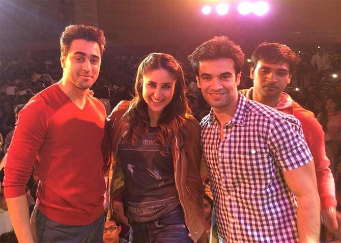 Punit Malhotra, Kareena Kapoor, Imran Khan in Kolkata