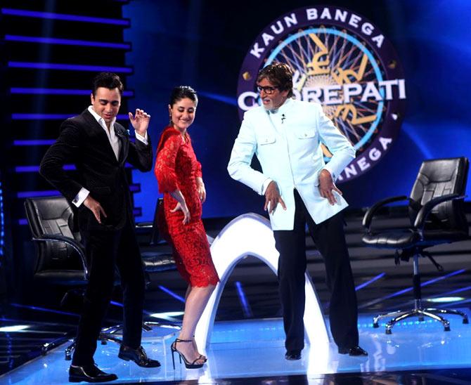 Imran Khan, Kareena Kapoor, Amitabh Bachchan
