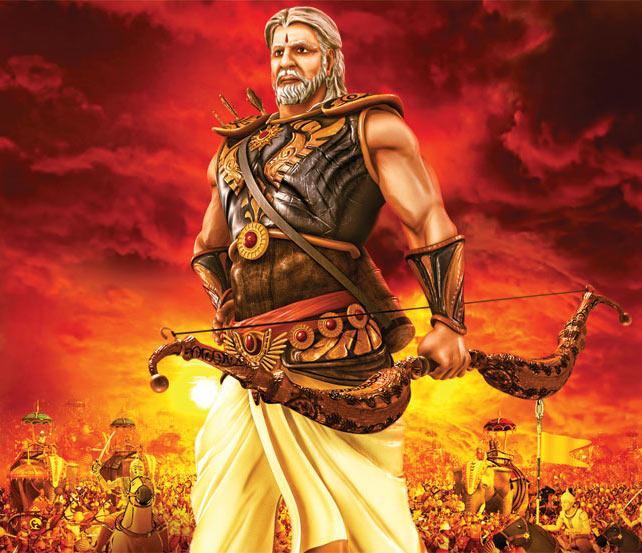 Amitabh Bachchan as Bheeshma Pitamah