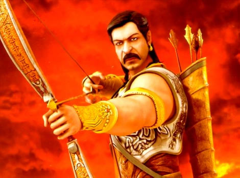 Ajay Devgn as Arjuna
