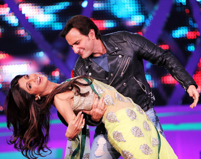 Shilpa Shetty and Saif Ali Khan